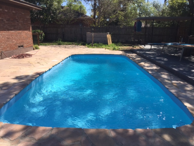 Dallas Tx Fiberglass Pool Remodeling Job