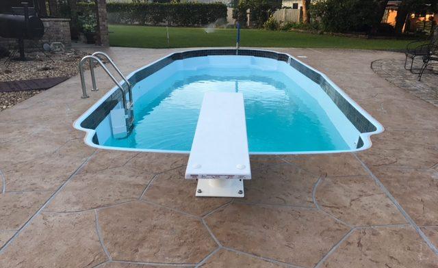 Cuero Tx Pool Remodeling Job Texas Fiberglass Pools Inc