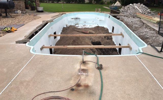 Cuero TX Pool Remodeling Job