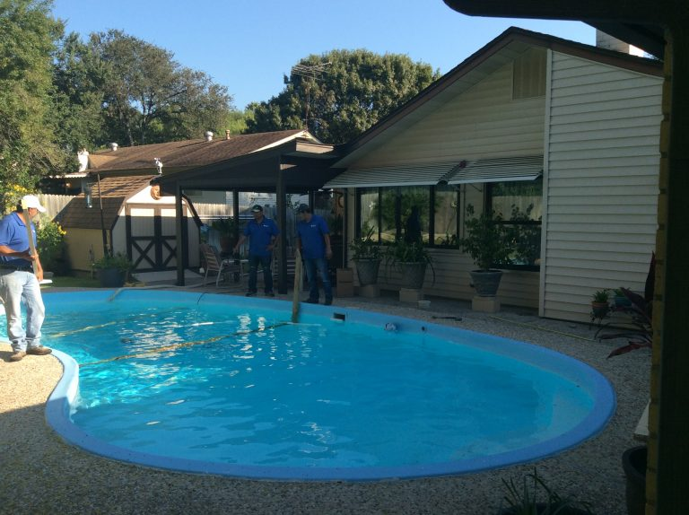 San Antonio TX Pool Remodeling Job