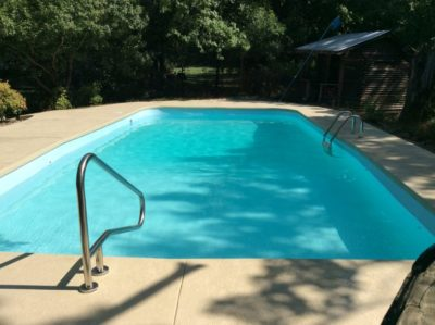 Blue Ridge TX Pool Remodeling Job