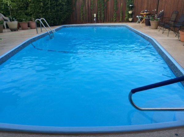 Plano TX Fiberglass Pool Remodeling Job
