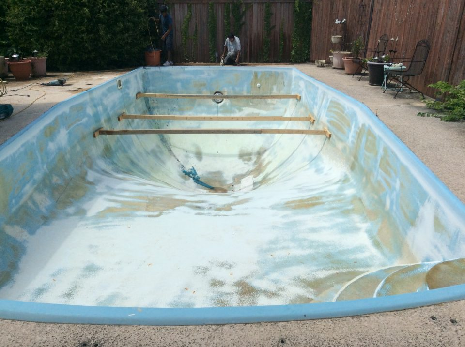 Plano Tx Fiberglass Pool Remodeling Job Texas Fiberglass