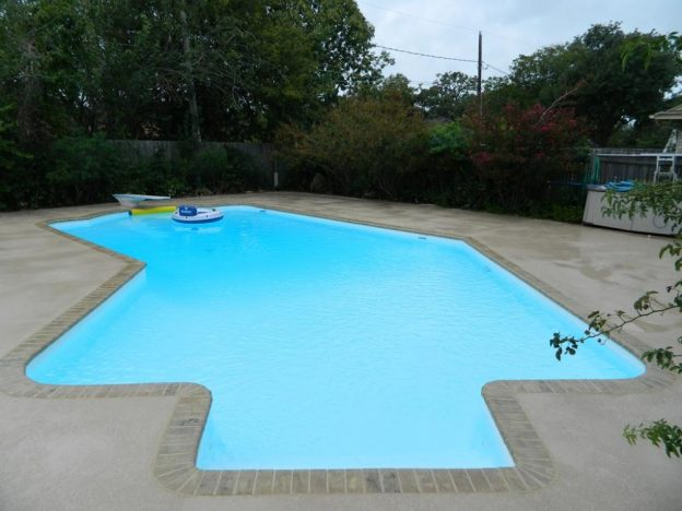 Arlington TX Pool Remodeling Job