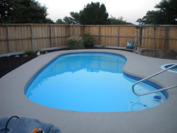Carrollton Pool Renovation Job After