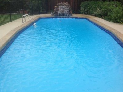 Carrollton Texas Pool Remodeling Job