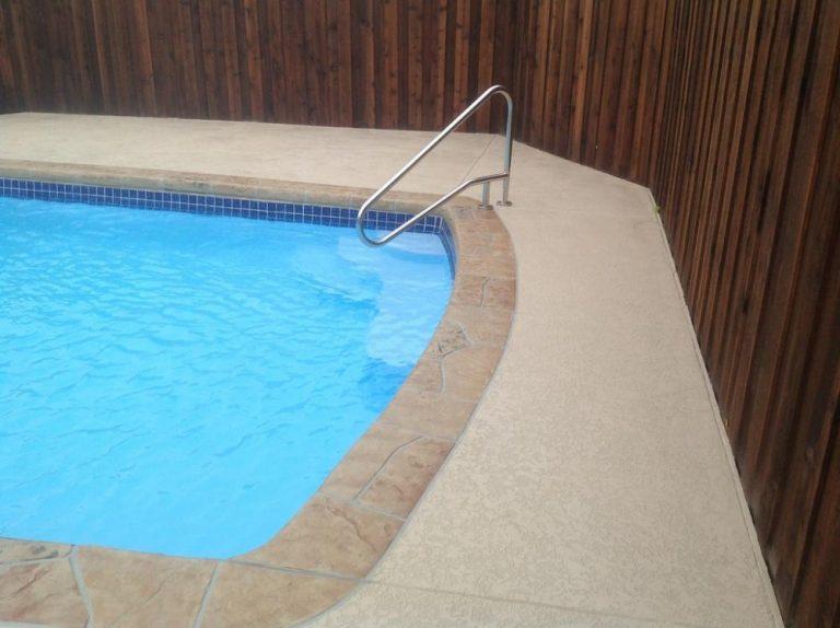 Carrollton Texas Pool Resurfacing Job