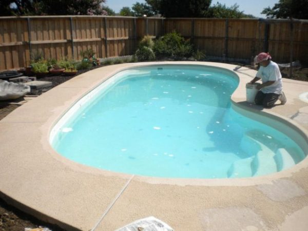 Carrollton Pool Renovation Job