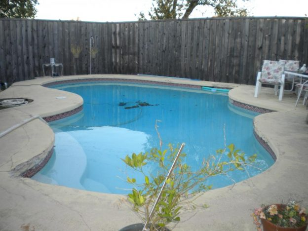 Carrollton TX Pool Leak Detection Job
