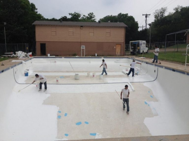 Cedar Hill TX Pool Resurfacing Job