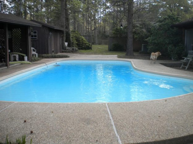 Crockett TX Pool Remodeling Job