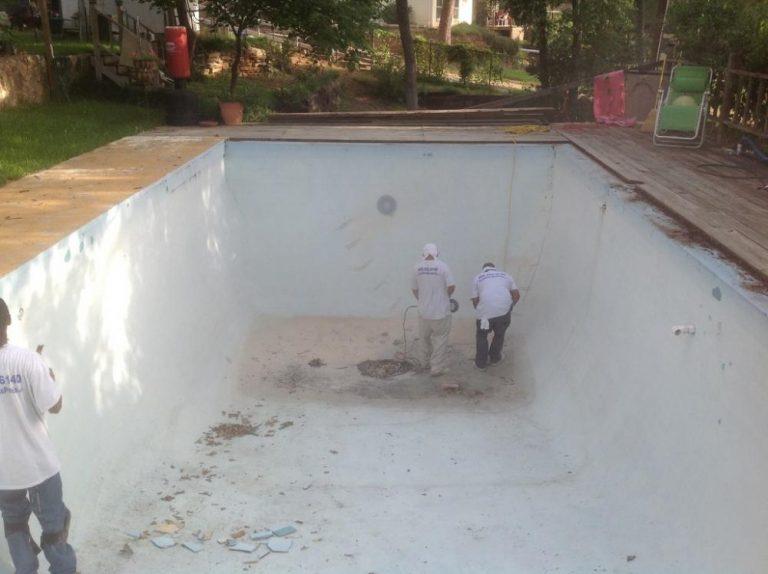 Hurst TX Pool Remodeling Job
