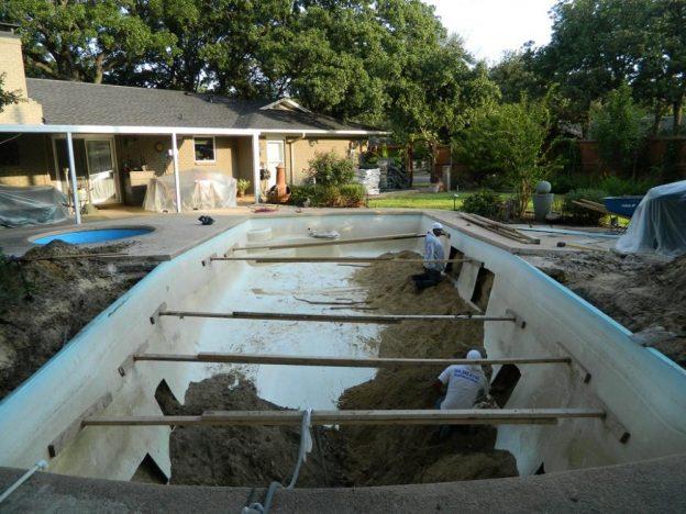 Irving TX Pool Remodeling Job