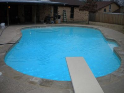 North Richland Hills TX Pool Remodeling Job