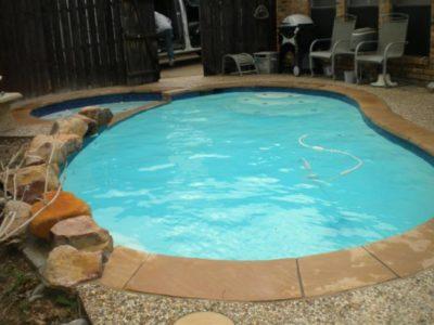 Rowlett TX Pool Remodeling Job