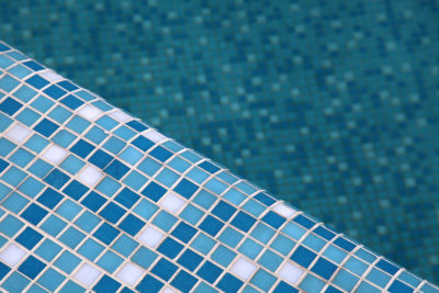 Blue Swimming Pool Tiles Texas Fiberglass Pools Inc.