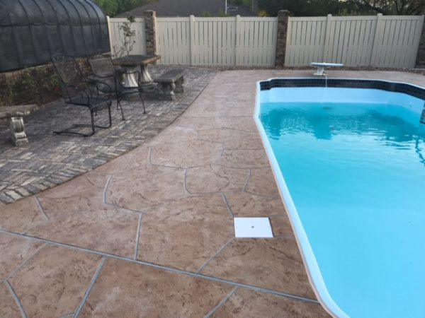 3 After Cuero, Texas Fiberglass Pool Resurfacing