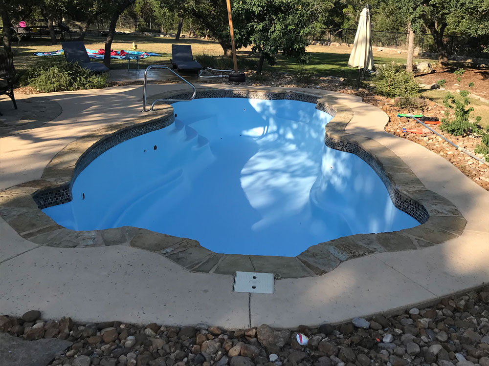 After Resurfacing - Austin, Texas