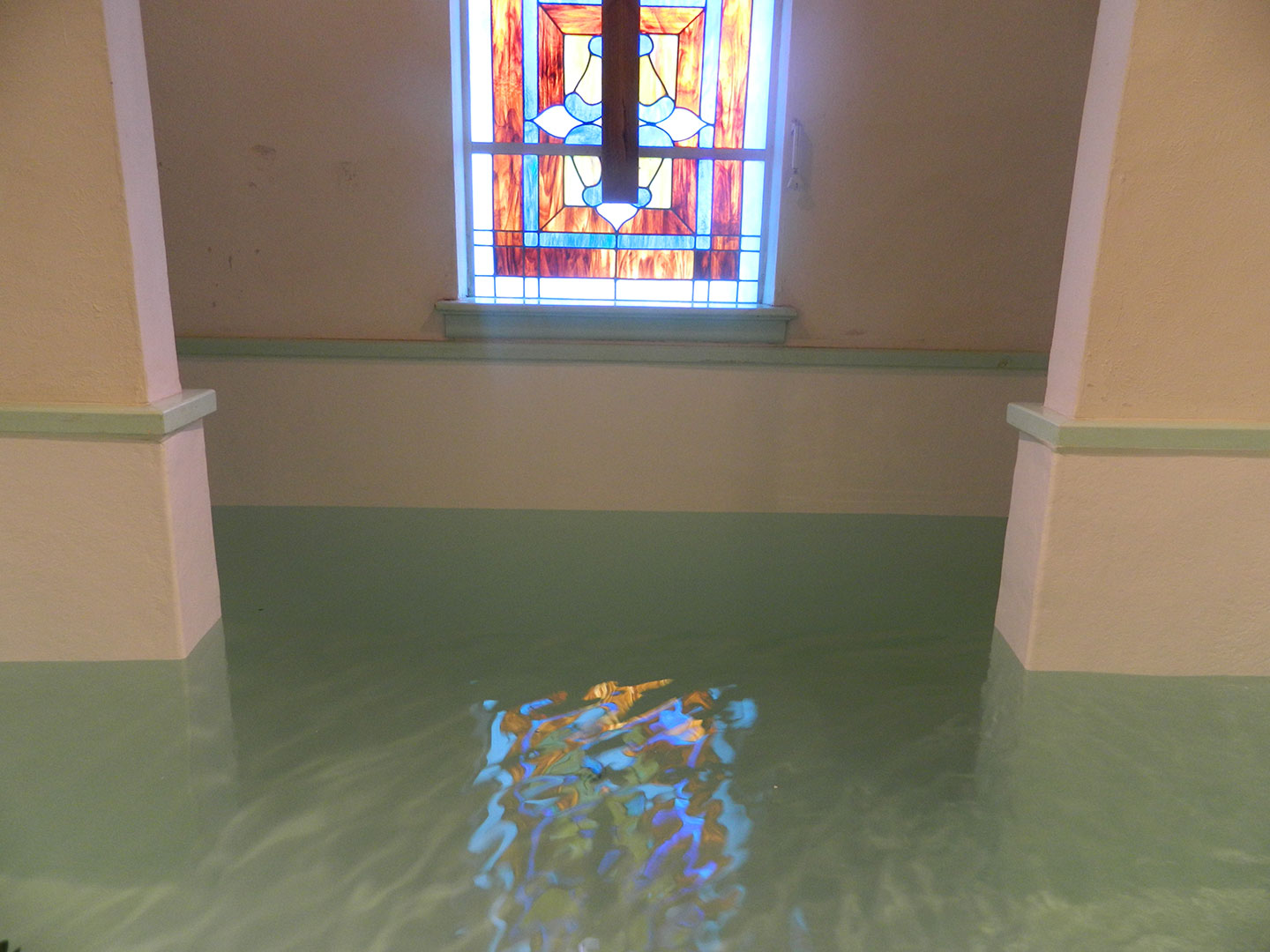 Baptistery Repair and Resurfacing