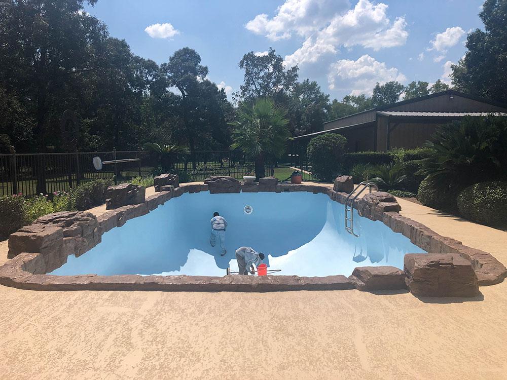 Pool Resurfacing in Houston, Texas