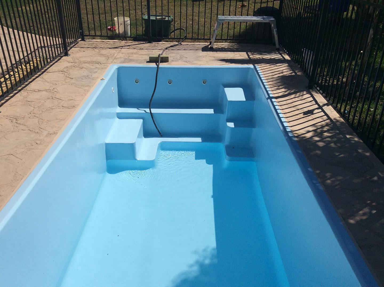 Fiberglass Pool Resurfacing by Texas Fiberglass Pools Inc.