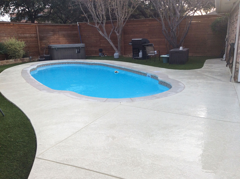 Pool Remodeling Texas Fiberglass Pools Inc.
