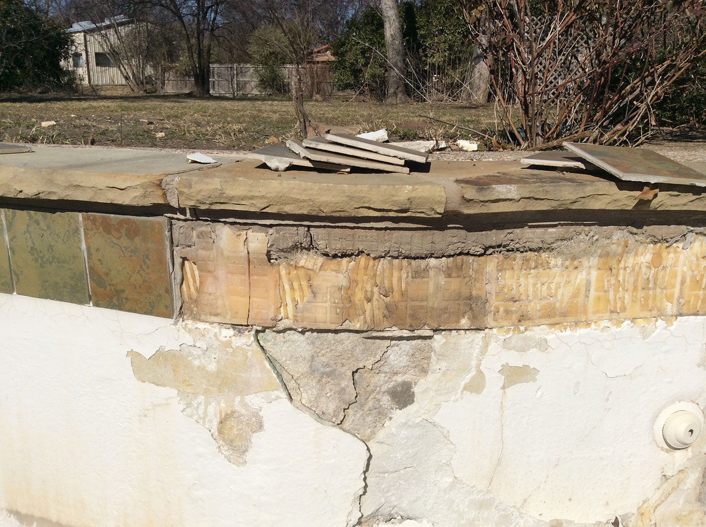 Pool Structural Crack Repairs